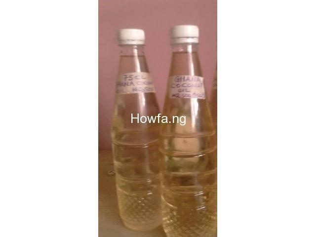 PURE Coconut Oil From Ghana (75CL Bottle) - 100% Original - 2