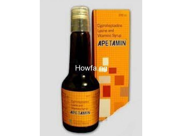 Weight Gain Syrup - Original Apetamin (Pre Xmas Sales) - 1