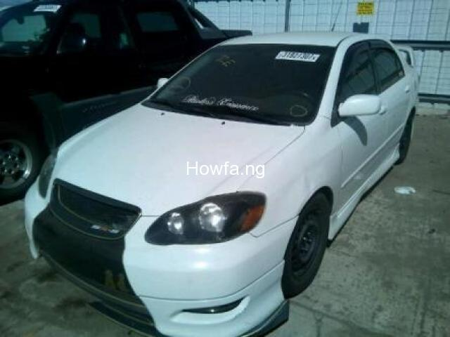 TOYOTA COROLLA XR - Model 2005 - Excellent Condition for Sale - 1