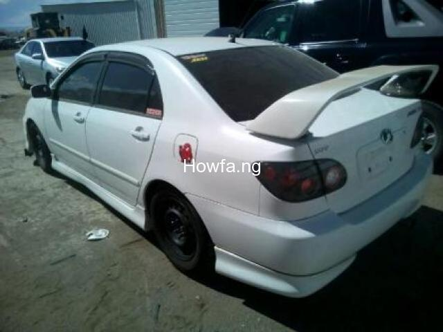 TOYOTA COROLLA XR - Model 2005 - Excellent Condition for Sale - 2