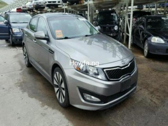 Silver KIA OPTIMA SX 2012 Model - Excellent Condition for Sale - Best Offer - 1