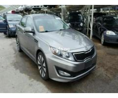Silver KIA OPTIMA SX 2012 Model - Excellent Condition for Sale - Best Offer - Image 1