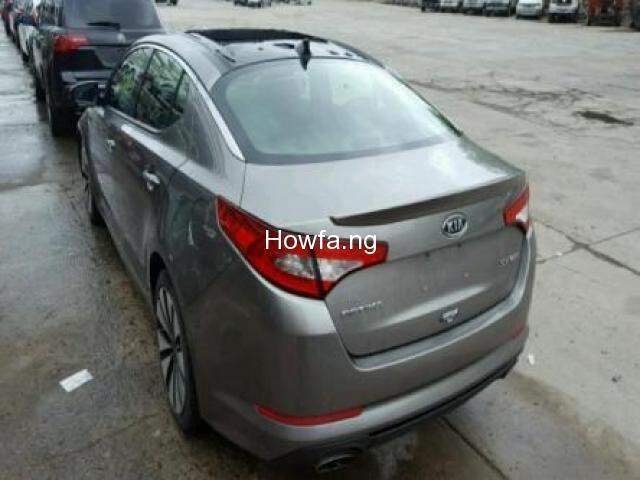 Silver KIA OPTIMA SX 2012 Model - Excellent Condition for Sale - Best Offer - 2