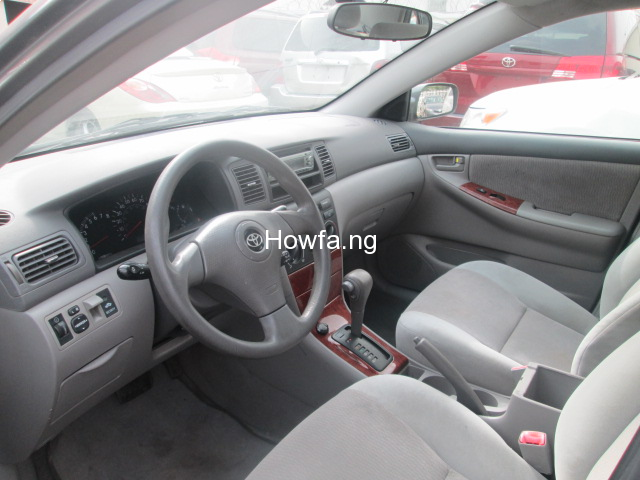 Foreign used Toyota corolla 2005 for sale - 2