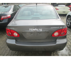 Foreign used Toyota corolla 2005 for sale - Image 4