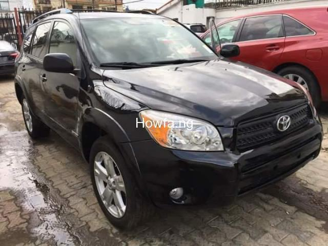 Foreign used Toyota rav4 2008 for sale - 1