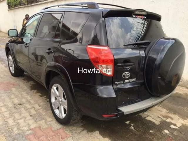 Foreign used Toyota rav4 2008 for sale - 2
