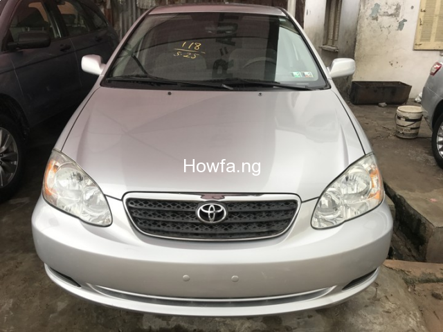 Foreign used Toyota corolla 2004 - 1