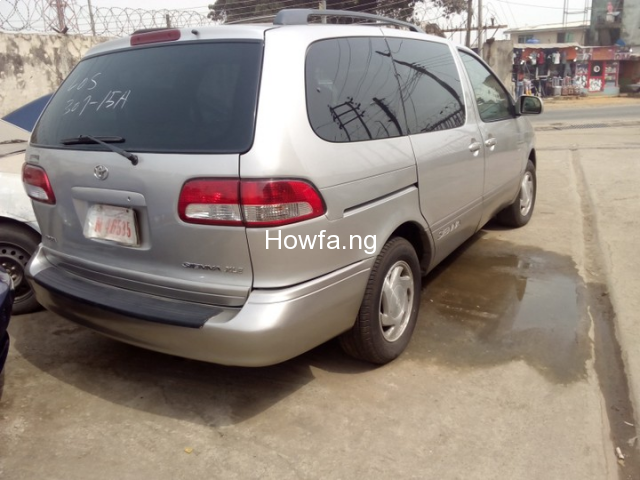 Foreign used Toyota Sienna 2003 for sale - 4