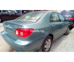 Foreign used Toyota corolla 2005 - Image 4