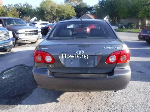 Foreign used Toyota corolla 2005 - 2