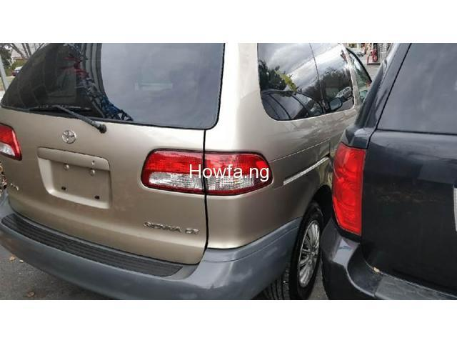 Foreign used Toyota Sienna 2003 - 2