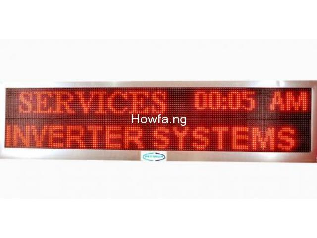Digital Displays For Sale - Excellent - 2