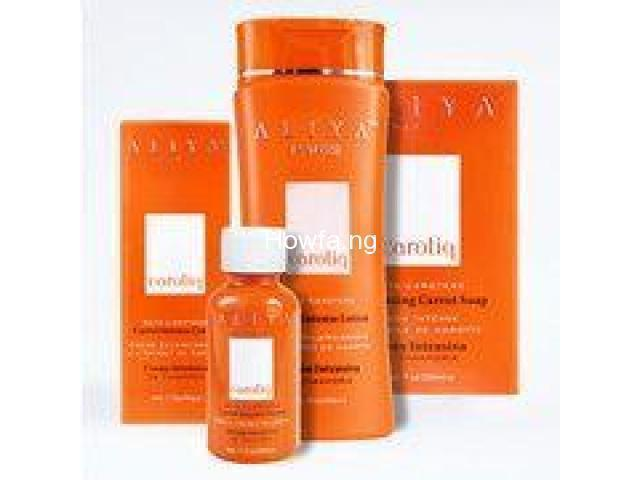 Aliya Carotiq Skin Lightening Set With Natural Extracts - 2