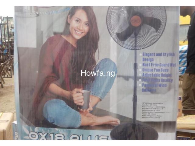 """Standing Fan - Wholesale Price Ox Ox 18"""" - 2"""