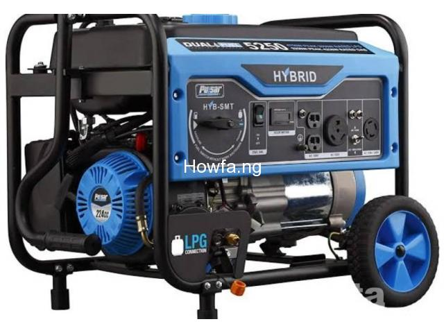 Gasoline Generator Set - Honda 5 KVA - for Sale - 1
