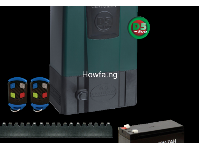 Gate Remote Control Machine System (Gate Automation Machine) Nigeria - 1