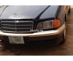 Mercedes-Benz Sharp C Class 1999  For Sale Because Of Urgent Need Of Cash To Settle Bills