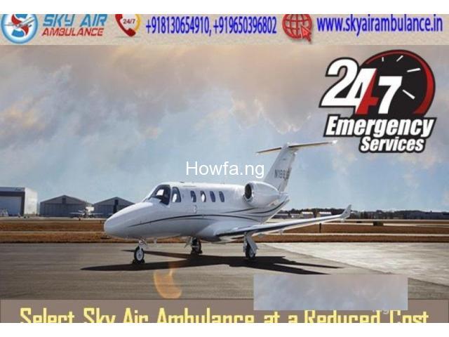 Life-Saving Medical Aid In Sky Air Ambulance From Varanasi - 1