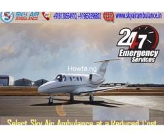 Life-Saving Medical Aid In Sky Air Ambulance From Varanasi