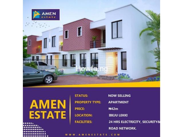 Amen Estate Phase ll,  Ibeju Lekki Lagos - 1