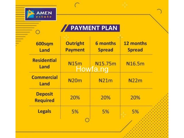 Amen Estate Phase ll,  Ibeju Lekki Lagos - 2