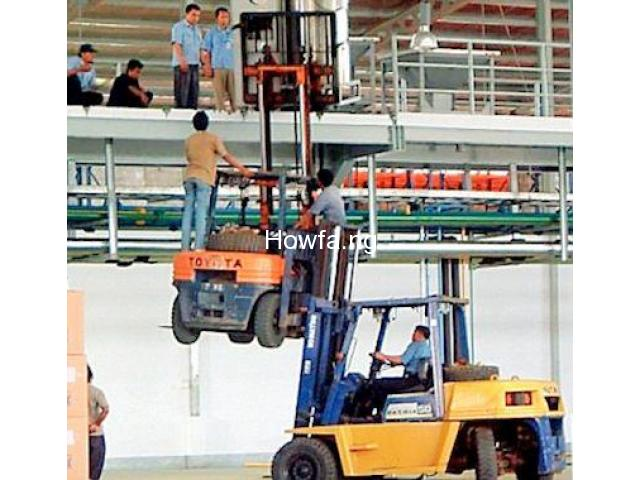 FORKLIFT COMPETENCY TRAINING - 2