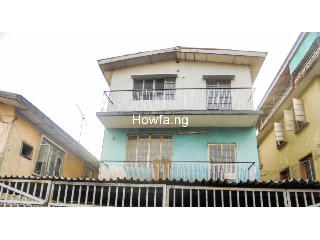 2 Storey Building of 3 bedroom flat each for sale at Surulere - 1