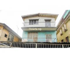 2 Storey Building of 3 bedroom flat each for sale at Surulere - Image 1