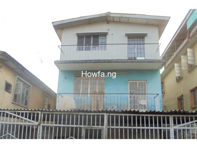 2 Storey Building of 3 bedroom flat each for sale at Surulere - 2