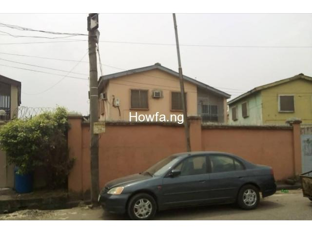4 Bedroom detached building (Duplex) with a mini flat BQ at Surulere - 1