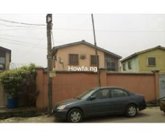 4 Bedroom detached building (Duplex) with a mini flat BQ at Surulere