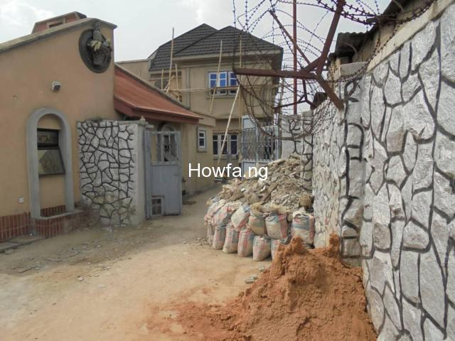 7 BEDROOM DETACHED HOUSE AT RANDLE AVENUE SURULERE - 3