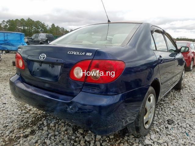 Clean sparkling Toyota Corolla sport 2005 model in a perfect condition - 2