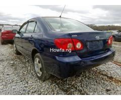 Clean sparkling Toyota Corolla sport 2005 model in a perfect condition - Image 3