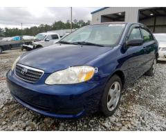 Clean sparkling Toyota Corolla sport 2005 model in a perfect condition - Image 4
