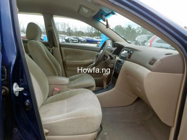 Clean sparkling Toyota Corolla sport 2005 model in a perfect condition - 8