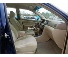 Clean sparkling Toyota Corolla sport 2005 model in a perfect condition - Image 8