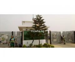 A newly built 3 bedroom terrace with modern facilities for sale at Arepo