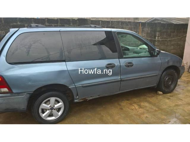 URGENT SALE: FORD WINDSTAR SPACE-BUS 3.8 V6 2000 MODEL AUTOMATIC - 5