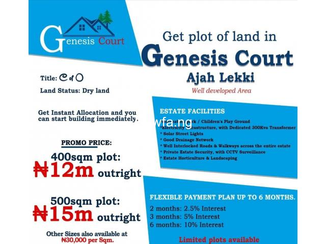 Serviced Estate Land for Sale!!!! - 1