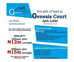Serviced Estate Land for Sale!!!!