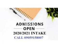 Veritas University admission 2020/2021 Admission Form/Post UTME Form Call 09051835536. Masters Form