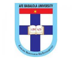Afe Babalola University (ABUAD) is a private university located in Ado-Ekiti, Ekiti State