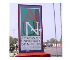 American University of Nigeria (AUN) is a private university in Yola, Adamawa