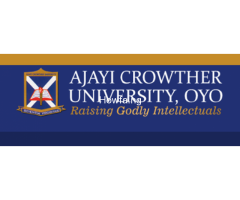 Ajayi Crowther University, Oyo, Oyo State  Admission Form is out call
