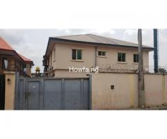 A block of 4 flat of 3 bedrooms for sale at Oregun Ikeja