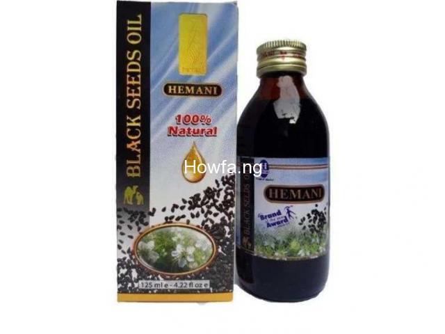Black seed oil - 1