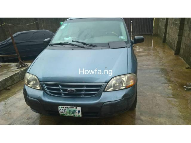2000 FORD WINDSTAR MINI SPACE-BUS FOR SALE - 1