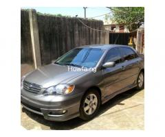 2004Toyota corolla for sale